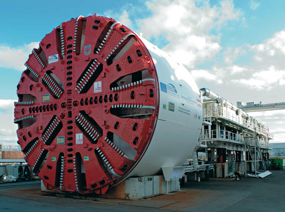 Modern Tunnel Boring Machine